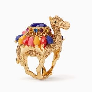 "Kate Spade Camel ""Spice Things Up"" Ring NWT"